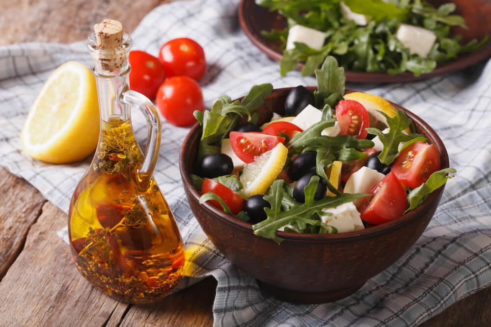 Black Olive Mediterranean Salad